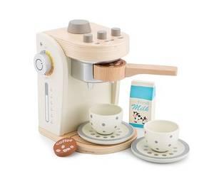 Bilde av New Classic Toys Kaffemaskin i Tre