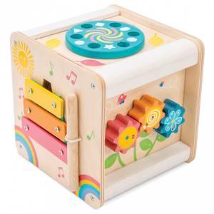 Bilde av Le Toy Van Aktivitetskube i Tre