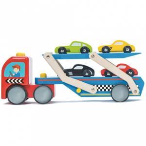 Bilde av Le Toy Van Bil Transport m/4 Racerbiler