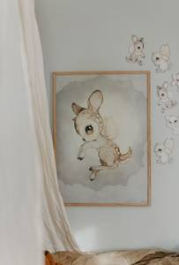 Bilde av Mrs. Mighetto Dear Kid | 50x70 cm.