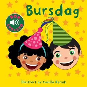 Bilde av Bursdag | Bok med Lyd og Lys