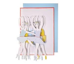 Bilde av Meri Meri Ballerina Papirrad Kort