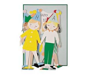 Bilde av Meri Meri Bursdagsbarn Papirrad Kort