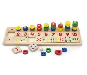 Bilde av New Classic Toys Tellespill   Tell og Sett Sammen Riktig