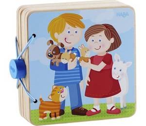 Bilde av Haba Babybok i Tre | Dyr