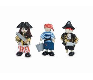 Bilde av  Le Toy Van 3 Pirat-Figurer i Tre