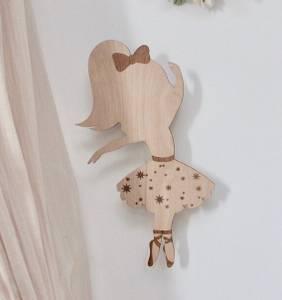 Bilde av Maseliving Ballerina Lampe | Tre