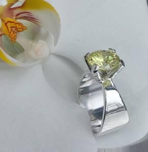 Bilde av Sølvring Caroline med cubic zirkonia