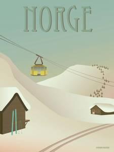 Bilde av VisseVasse Norge Sneen Kort