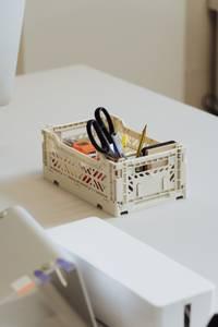 Bilde av HAY Colour Crate S, Off White