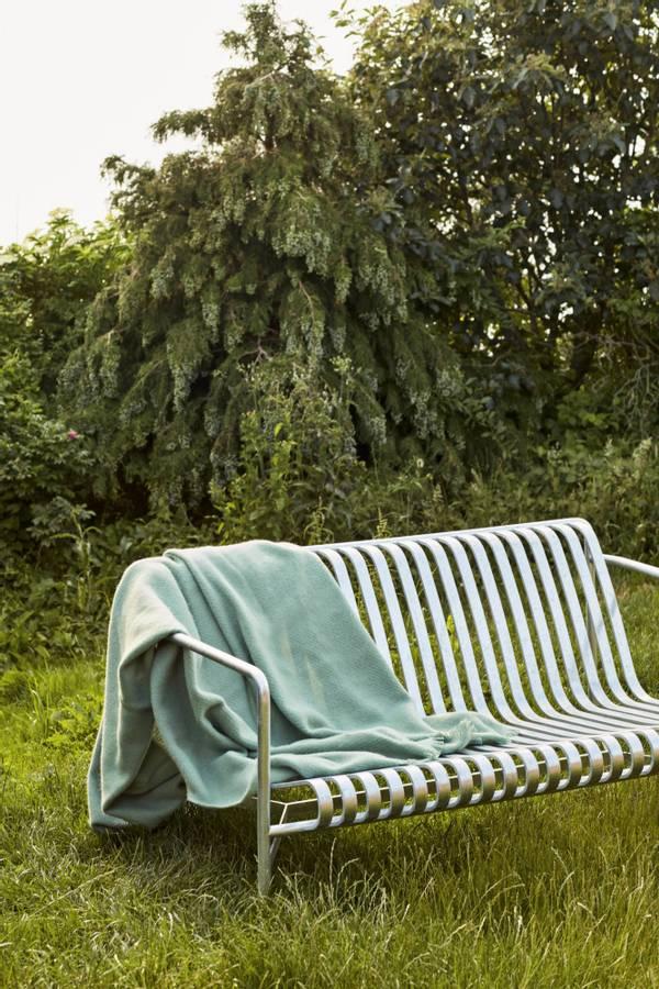 HAY Mono Blanket, Verdigris Green pledd