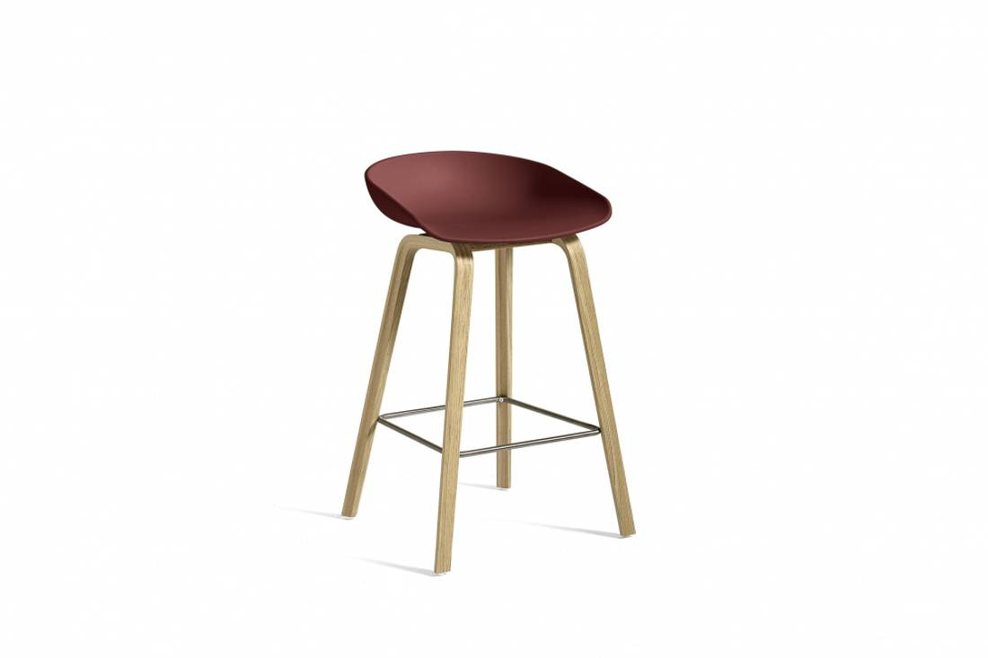 HAY 64cm Brick Soap Oak AAS32,  About a Stool 32 Barstol