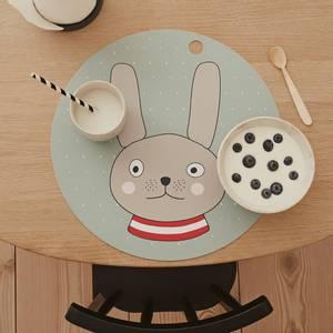 Bilde av OYOY Rabbit Spisebrikke Minty