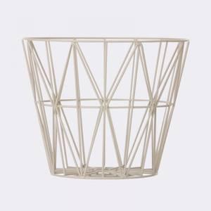 Bilde av Wire Basket L Light Grey,