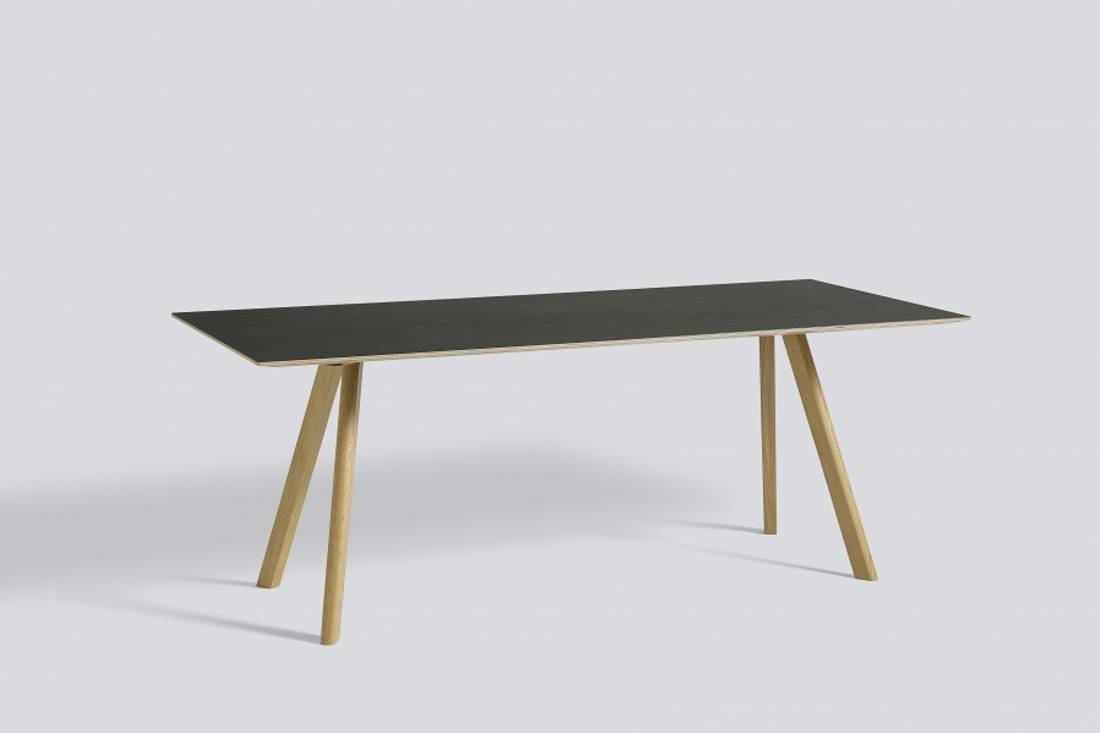HAY Copenhague Table CPH30, Black Spisebord 200cm