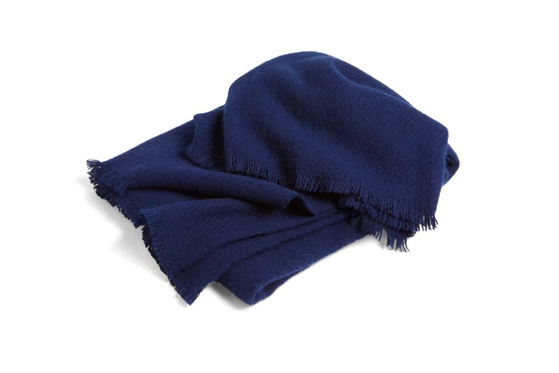 HAY Mono Blanket,  Midnight Blue