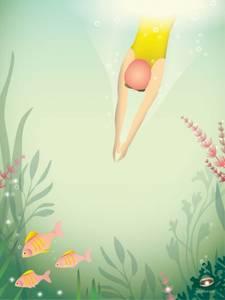 Bilde av VisseVasse Swim like a fish