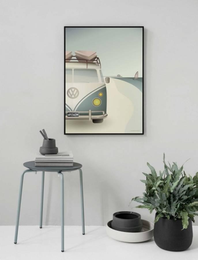 VisseVasse VW Camper kort 15x21