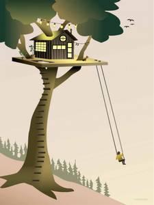 Bilde av VisseVasse Tree house