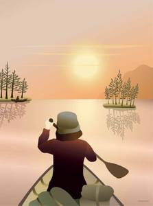 Bilde av VisseVasse Canoeing on the