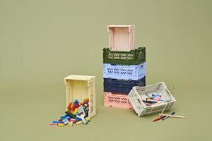 Bilde av HAY Colour Crate S, Nougat