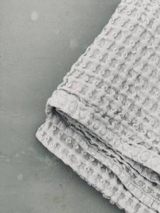 Bilde av Humdakin Waffle Towels, Stone