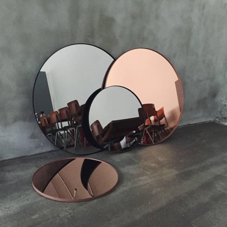 AYTM Mirror Ø70cm Amber