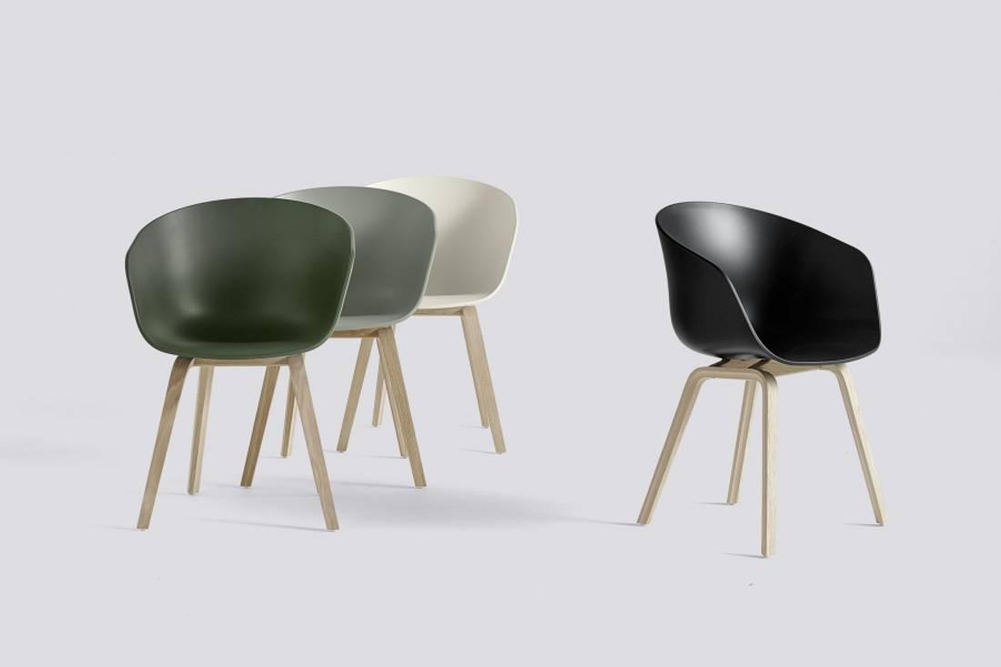 HAY Pastel Green/Mattlakkert AAC22, About a Chair 22 Stol