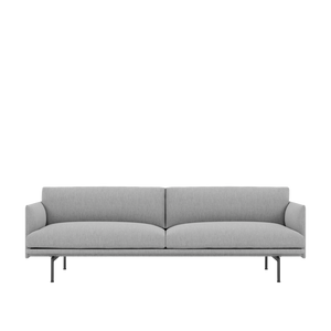 Bilde av MUUTO Outline Sofa 3 seter,