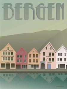 Bilde av VisseVasse Bergen Brygge kort