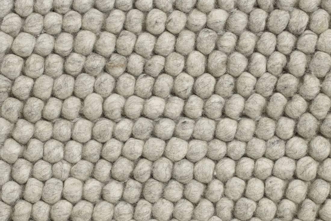 PEAS Teppe 140x200 Soft Grey, HAY