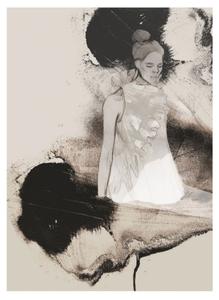 Bilde av Kunsttrykk The Light 50x70 - Anna Bülow