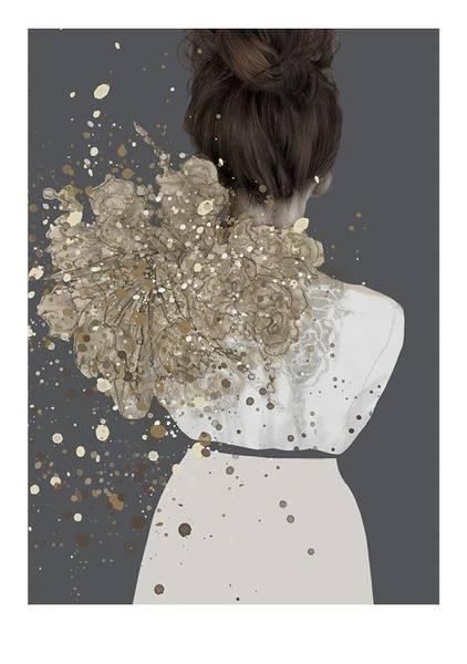 Kunsttrykk Vilja 30x40 - Anna Bülow