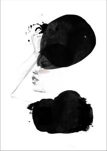 Bilde av Kunsttrykk Noise 30x40 - Anna Bülow