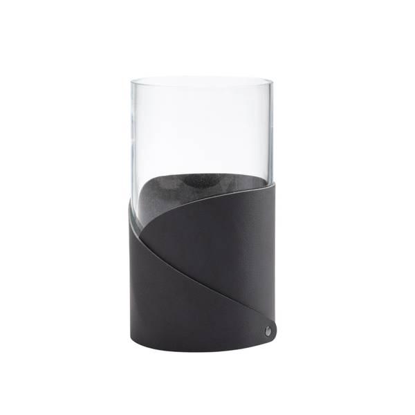 Fold Vase M Nupo Black