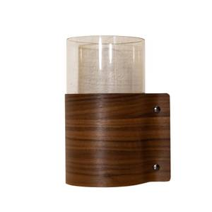 Bilde av Block Vase M Wood Walnut