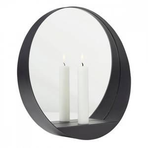 Bilde av GLIM vegglysestake med speil rund