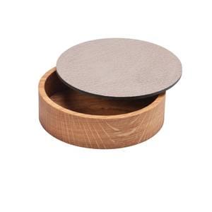 Bilde av Wood Box & Lid Bull Warm grey