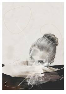 Bilde av Kunsttrykk Water Lily 30x40 - Anna Bülow