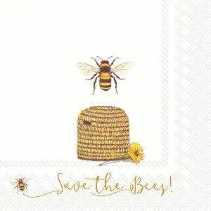 Bilde av Servietter lunsj Save the Bees!
