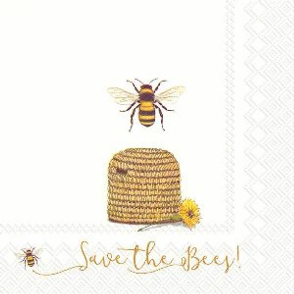 Servietter lunsj Save the Bees!