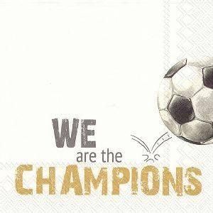 Bilde av Servietter lunsj We are the Champions