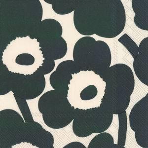 Bilde av Marimekko servietter Unikko cream green (flere