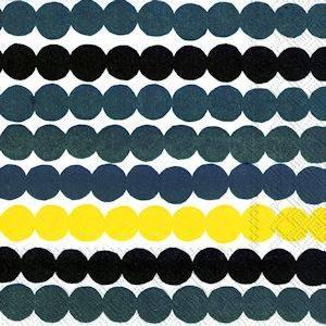 Bilde av Marimekko servietter lunsj Räsymatto Yellow
