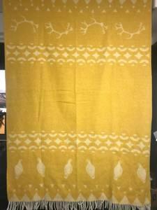 Bilde av Ullpledd rype og reinhorn gul