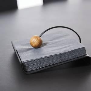 Bilde av String Napkin Holder Hippo Black-Anthracite