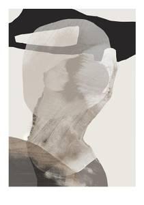 Bilde av Kunsttrykk Monument 1 50x70 - Anna Bülow