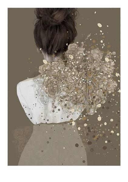 Kunsttrykk Embla 30x40 - Anna Bülow