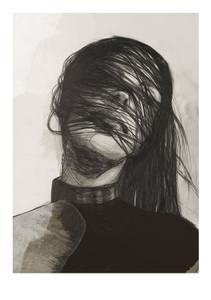 Bilde av Kunsttrykk Solitude 30x40 - Anna Bülow
