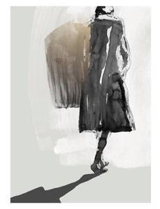 Bilde av Kunsttrykk Light Chaser 70x100 - Anna Bülow